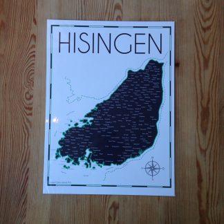 Hisingskartan Hisinge grafiska verkstad