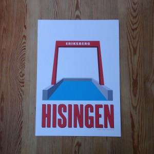 Eriksbergskranen Hisinge Grafiska Verkstad