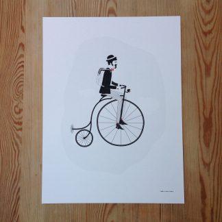 Fröken Fräken Cyklist