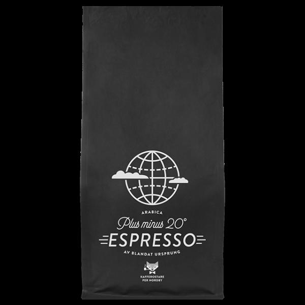 Per Nordby Espresso Plus Minus 20 grader