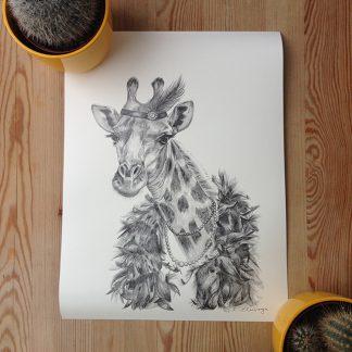 Frida Clerhage Greta Giraffe