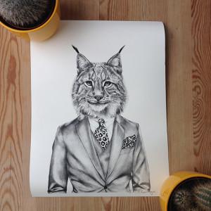 Frida Clerhage Luis Lynx