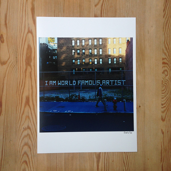 Patrik Qvist –I am world famous artist