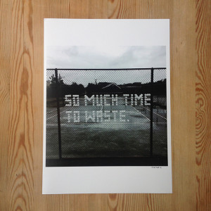 Patrik Qvist – So much time to waste