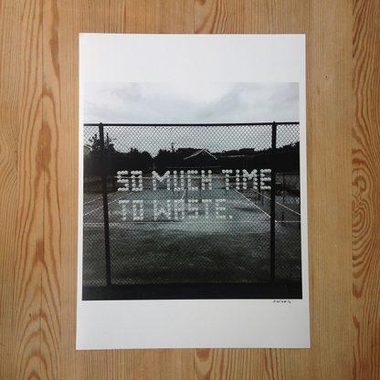 Patrik Qvist –So much time to waste