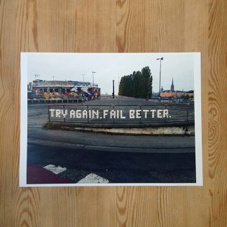 Patrik Qvist – Try again. Fail better.