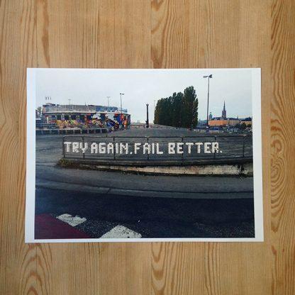 Patrik Qvist – Try again. Fail better.