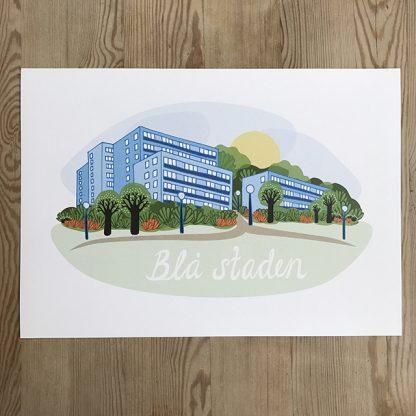 Susanne Taieb –Blå staden