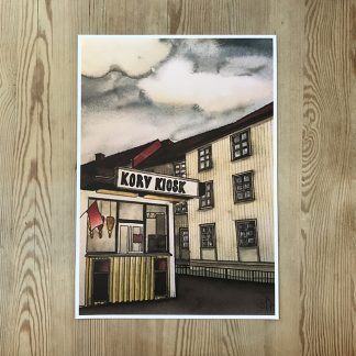 Sara Andén –Korv kiosk