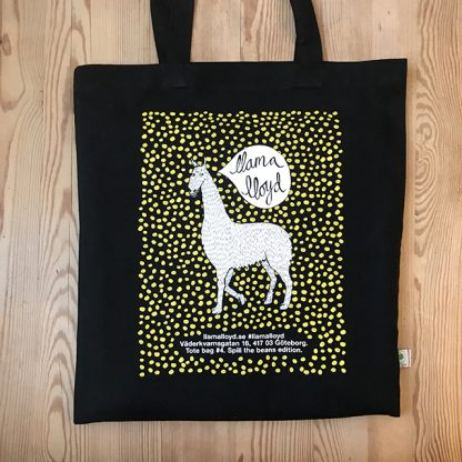 Tote bag #4: Spill the beans.