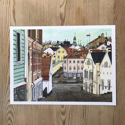 Lovisa Eklund –Staden, taken, backarna
