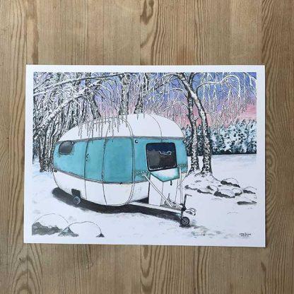 Lovisa Eklund – Snöskog, isstrand