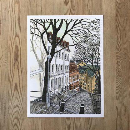 Lovisa Eklund – Staden, träden, trapporna.