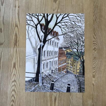 Lovisa Eklund - Staden, träden, trapporna