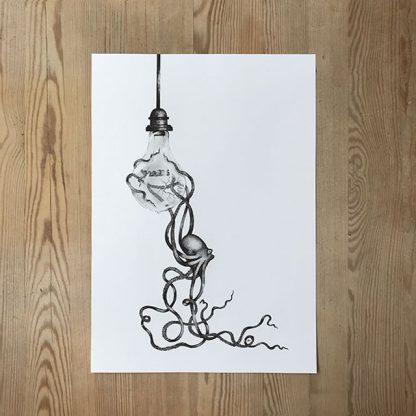 Joss Gustavsson – Lightbulb & Octopus