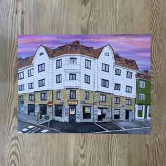 Lovisa Eklund - Skymning över Kville