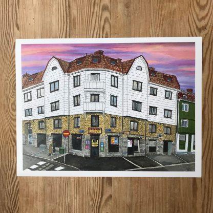 Lovisa Eklund –Skymning över Kville