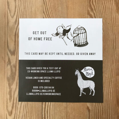 Get out of home free –Gift card